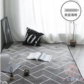 北歐地毯榻榻米滿鋪保暖客廳家用地墊床邊毯【少女顏究院】