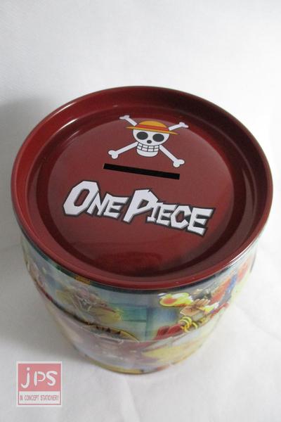 航海王 ONE PIECE 酒桶罐存錢筒 紅色 KRT-261811