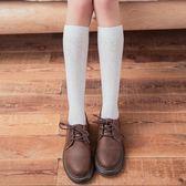 日系小腿襪子女夏季薄生長高筒及膝襪運動制服襪中筒韓版黑色學生 芭蕾朵朵