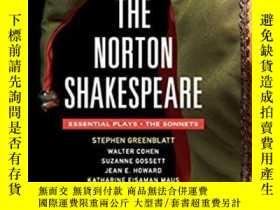 二手書博民逛書店諾頓莎士比亞戲劇和14行詩必讀文集罕見英文原版 The Nort