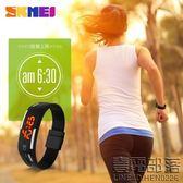 防水韓版手錶 skmei潮流學生正韓女錶 創意LED電子錶男士腕錶