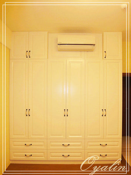 【歐雅系統家具】系統櫃 異國風調~鄉村風 系統衣櫃 系統高櫃 EGGER E1-V313防潮塑合板 系統櫃工廠