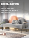 北歐風服裝店小沙發臥室簡易小戶型公寓ins雙人沙發個性網紅沙發  一米陽光