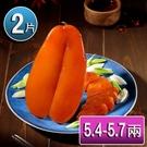 【華得水產】野生烏魚子禮盒2盒(5.4~5.7兩/片/盒 附提袋x2)