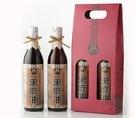 【村家味】黑麻油禮盒~(600mlx2瓶)