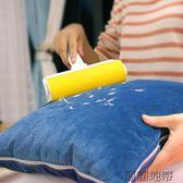 店長推薦可水洗粘毛器粘毛滾筒衣物除塵器滾刷非可撕式粘塵紙吸衣服沾毛刷【潮咖地帶】