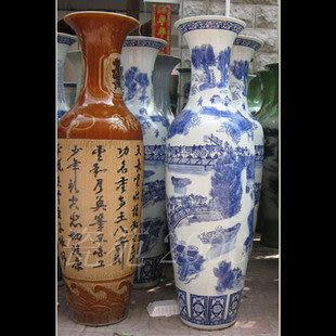 景德鎮陶瓷花瓶花器   清明上河圖