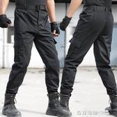 春秋教官全地形戰術黑色作訓迷彩褲男特種兵軍迷耐磨工裝保安褲子 奇妙商鋪