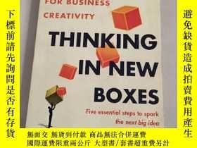 二手書博民逛書店THINKING罕見IN NEW BOXES(在新的盒子裏思考)原版庫存Y6318 LUC DE BRABAN