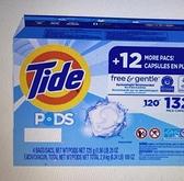 [COSCO代購 1110] 促銷至10月22日 W130613 Tide 汰漬 無色香洗衣膠囊 33顆 X 4入