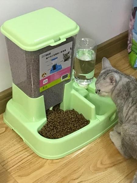 自動飲水狗碗自動喂食器