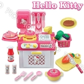 《Hello Kitty》HELLO KITTY流理台瓦斯爐玩具組/Hello Kitty/扮家家酒/角色扮演/三麗鷗