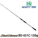 漁拓釣具 HR BLACK DIAMOND BD-651C/120 [船釣槍柄鐵板竿]