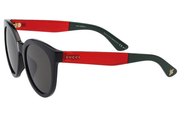 GUCCI-時尚太陽眼鏡 (黑色)