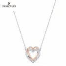 施華洛世奇 Infinity Heart 鍍多色心形項鏈