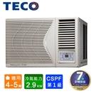 TECO東元4-5坪一級R32變頻冷專右吹窗型冷氣 MW28ICR-HR~自助價