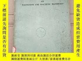 二手書博民逛書店proceedings罕見of the fourth symposium on magnetism and mag