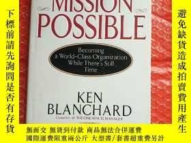 二手書博民逛書店mission罕見possible 可能的任務 英文原版,內有劃