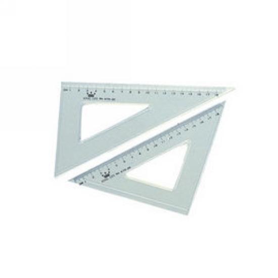 【徠福】 KTR-20 塑膠三角板
