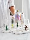 日居仕創意塑料晾杯架瀝玻璃水杯架家用卡通晾杯子架子杯具收納架