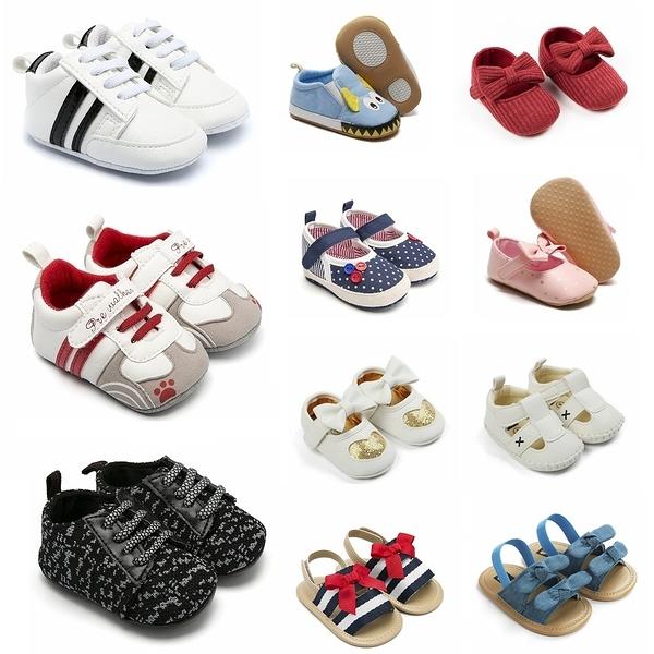 嬰兒鞋 寶寶學步鞋 花朵學步鞋 夏季涼鞋 四季室內鞋 男寶寶女寶寶百搭嬰兒鞋 88061