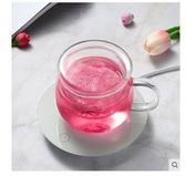 恒溫寶水杯加熱杯墊玻璃杯加熱保溫底座茶壺茶杯暖奶器220v【限時特惠】