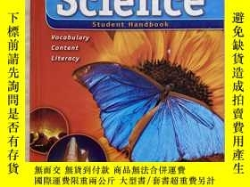 二手書博民逛書店CONTENT罕見ESSENTIALS TM FOr Science Student Handbook level