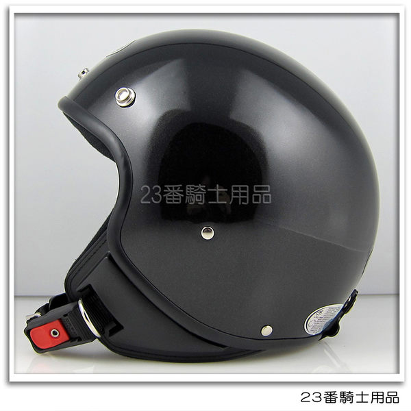 【ZEUS 瑞獅 ZS-103B 素色 亮黑 小帽殼 復古 3/4 半罩 安全帽 Andes 安全帽 】內襯全可拆、可自取