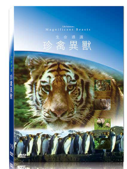 新動國際【19-生命通識-珍禽異獸】BBC-Life Sciences-Magnificent Beasts-DVD