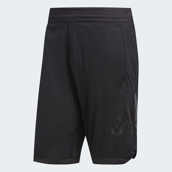 Adidas BADGE OF SPORT [DM6971] 男 短褲 籃球 運動 寬鬆 舒適 透氣 排汗 黑