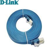 10M Cat.6 UTP高速扁平網路線(藍色)