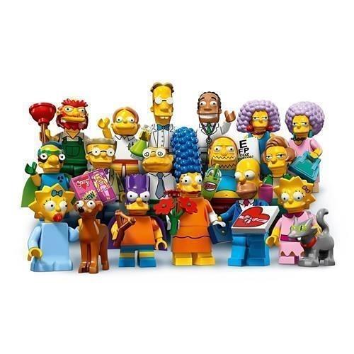 LEGO 樂高 Simpsons Series 2 Complete set of 16 Minifigures (71009)