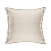HOLA 素色織紋抱枕50x50cm米色