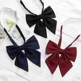 羽根領結JK制服純色領結女學院風襯衫校服配飾水手服蝴蝶結赤羽根