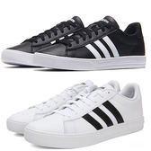 Adidas Daily 2.0 男鞋 慢跑 休閒 基本款 復古 韓系 白 / 黑 【運動世界】 DB0160 / DB0161