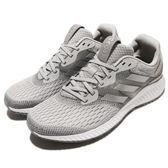adidas 慢跑鞋 AeroBounce M 灰 白 銀 男鞋 運動鞋 透氣網布 【PUMP306】 BW0280