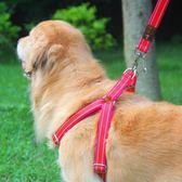 狗錬子狗牽引繩胸背帶遛狗繩子薩摩耶金毛中大型犬寵物用品  居家物語