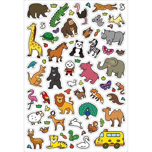 《風車出版》FOOD超人趣味磁鐵遊戲書-可愛動物  /   JOYBUS玩具百貨