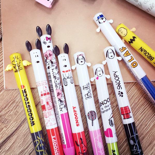 PGS7 日本史奴比系列商品 - 史奴比 史努比 Snoopy 雙色 原子筆 造型筆【SHJ6408】