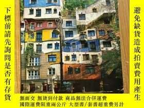 二手書博民逛書店HUNDERTWASSER罕見FAIRYTALE HOUSES-童話般的房子Y9757 外文出版社 出版2