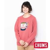 CHUMS 日本 女 Cyclone 圓領套頭衫 珊瑚 CH121086R016