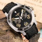 【人文行旅】NIXON| A940-2222 THE Ranger Chrono Leather 沉穩內斂軍事風格腕表