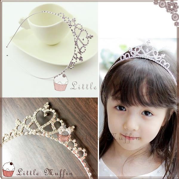 公主系 進口水鑽立體大皇冠高質感髮箍/髮飾 舒適無壓迫