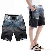 男士短褲夏季速干沙灘褲男大碼寬鬆潮流韓版休閒夏天五分運動褲子艾美時尚衣櫥