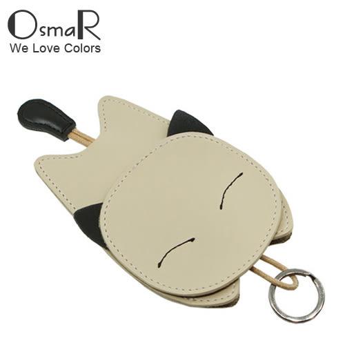 鑰匙包 創意萌趣貓咪多功能抽繩鑰匙包 6色【絢彩家OsmaR】現貨販售
