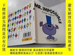 二手書博民逛書店mr.impossible:罕見不可能先生25Y212829