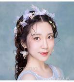 2017新款森系手工花朵結婚超仙韓版花環頭飾 YY328『小美日記』