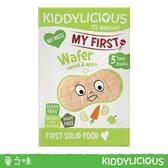 Kiddylicous 英國童之味 胡蘿蔔蘋果泡泡小米餅3gx5包 (15g)[衛立兒生活館]