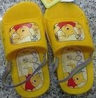 『121婦嬰用品館』小熊維尼拖鞋涼鞋 - 16號