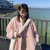 棒球服女 春装韩版学生日系夹克小个子薄款短外套【少女顏究院】